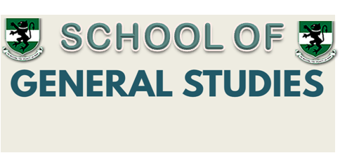 First Semester GENERAL STUDIES PROGRAMME [GSP] CBE (2017/2018 Session)